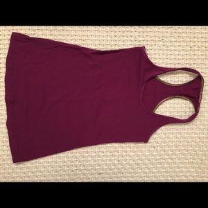 Lululemon cool racerback, size 4, violet, EUC